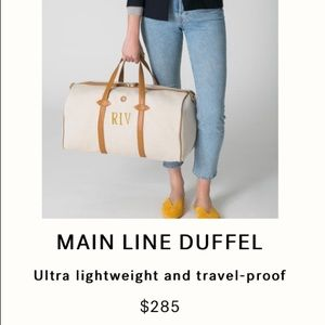 PARAVEL MAIN LINE TRAVEL BAG $285